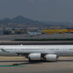 spotting… aeroport Barcelona-El Prat 2017jul06 2017jul20 2017jul27 Mahan Air Airbus A340-313